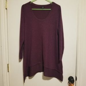 Womans Tunic Sweater